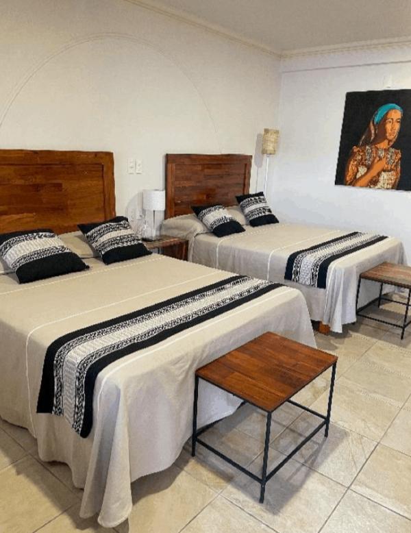 Room 5 – Two Queen beds – 3/22