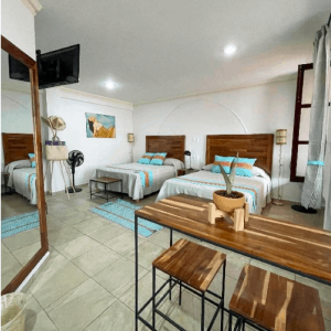 Room 6 – Two Queen beds – 3/22